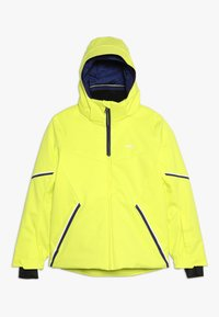 Kjus - BOYS FORMULA JACKET - Snowboardjacka - citric yellow - 0