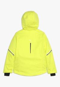 Kjus - BOYS FORMULA JACKET - Snowboardjacka - citric yellow - 1