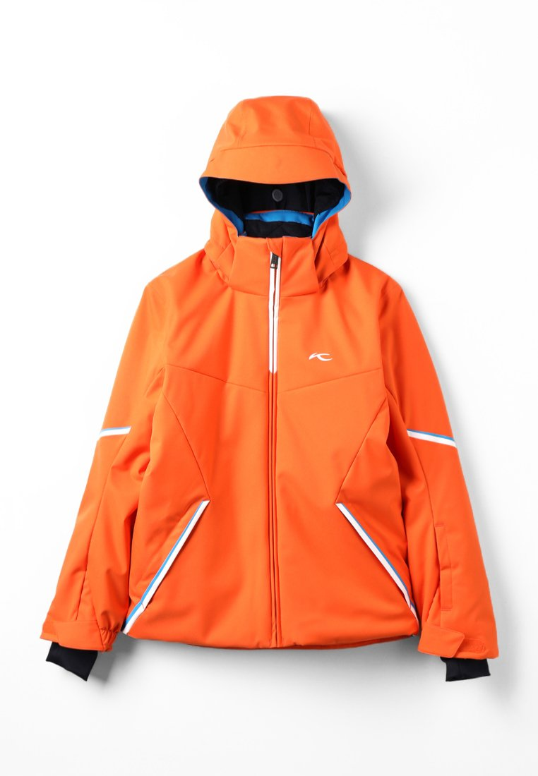 Kjus - BOYS FORMULA JACKET - Snowboardjacke - orange