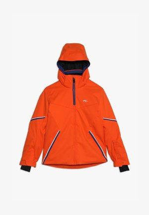BOYS FORMULA JACKET - Snowboardová bunda - orange/south blue