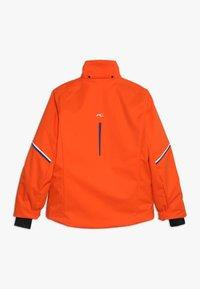 Kjus - BOYS FORMULA JACKET - Snowboardová bunda - orange/south blue - 1
