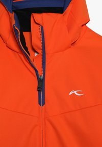 Kjus - BOYS FORMULA JACKET - Snowboardová bunda - orange/south blue - 5