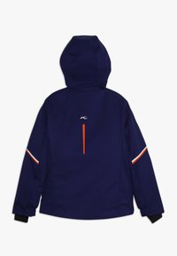 Kjus - BOYS FORMULA JACKET - Snowboardová bunda - into the blue