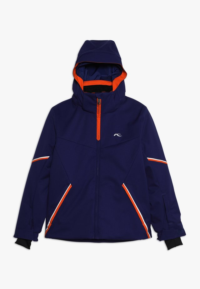 BOYS FORMULA JACKET - Kurtka snowboardowa - into the blue