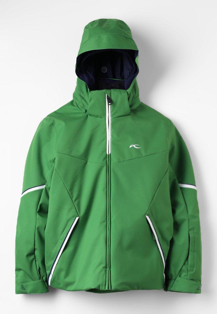 Kjus - BOYS FORMULA JACKET - Chaqueta de snowboard - green leaf