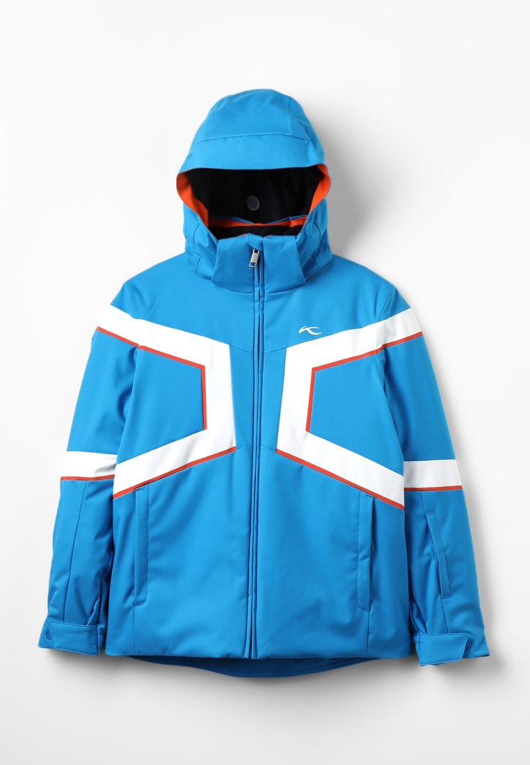 Kjus - BOYS SPEED READER - Chaqueta de esquí - aqua blue/white