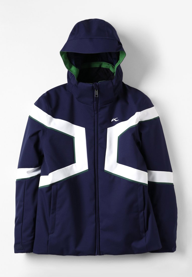 Kjus - BOYS SPEED READER - Chaqueta de esquí - blue/white