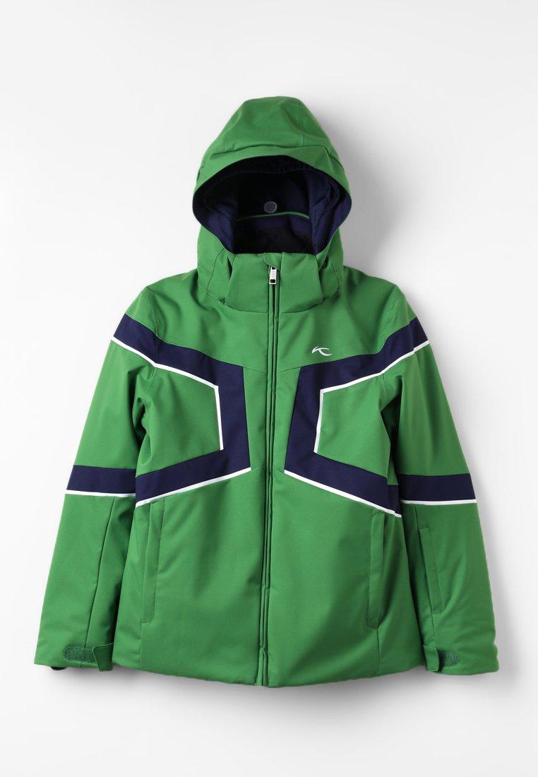 Kjus - BOYS SPEED READER - Chaqueta de esquí - green leaf