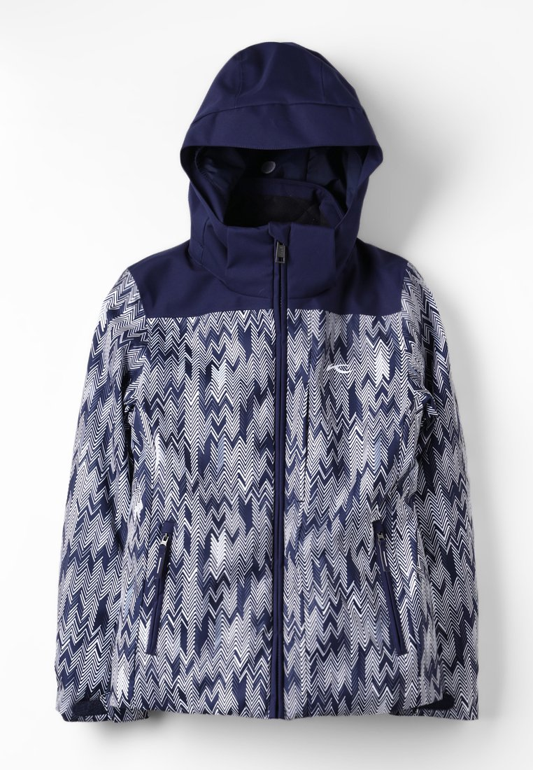 Kjus - GIRLS SURFACE JACKET - Chaqueta de snowboard - atl.blue-white