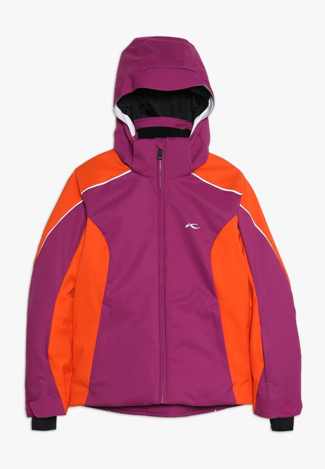 GIRLS FORMULA JACKET - Snowboard jacket - fruity pink/orange