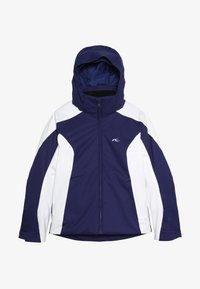 Kjus - GIRLS FORMULA JACKET - Snowboard jacket - into the blue/white - 3