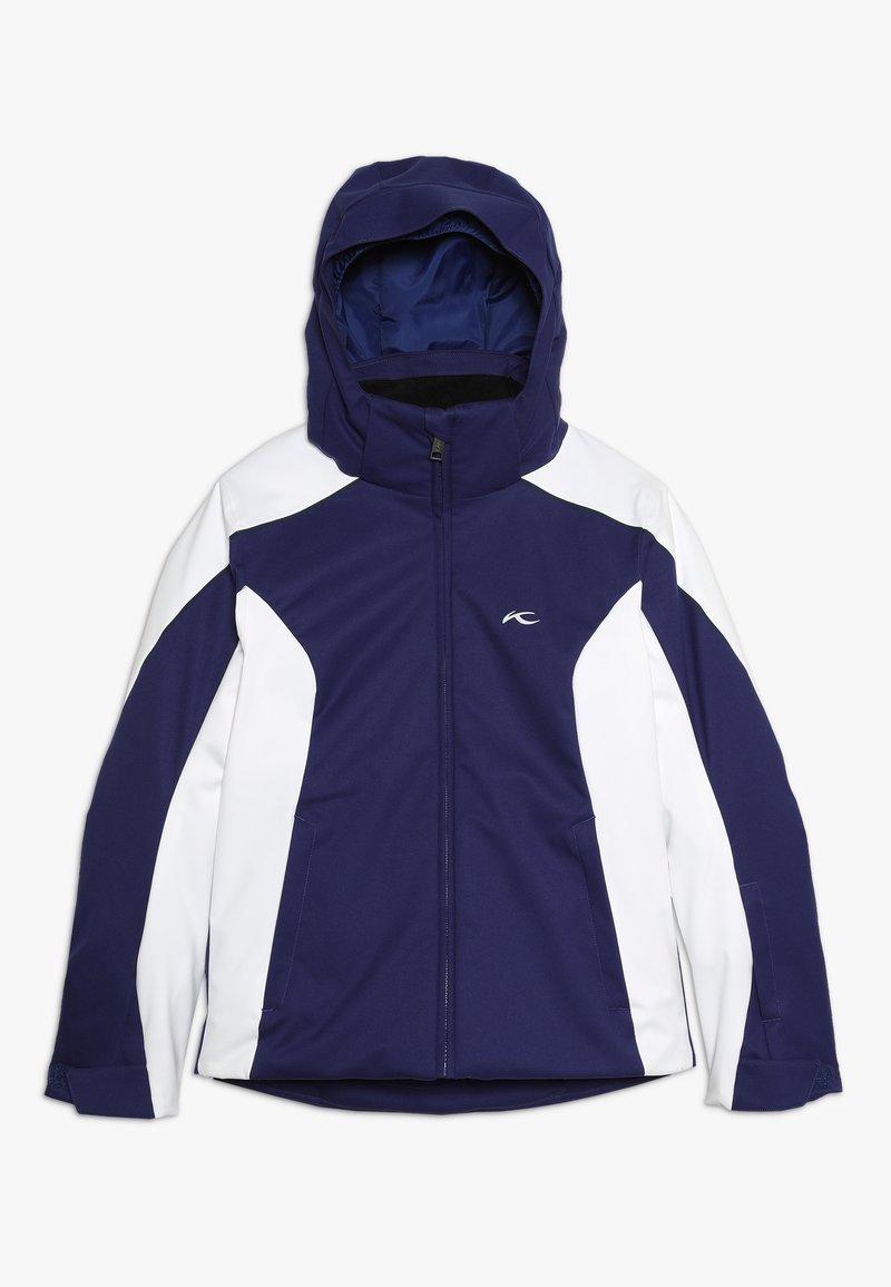 Kjus - GIRLS FORMULA JACKET - Snowboard jacket - into the blue/white