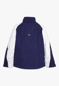 Kjus - GIRLS FORMULA JACKET - Snowboard jacket - into the blue/white - 2