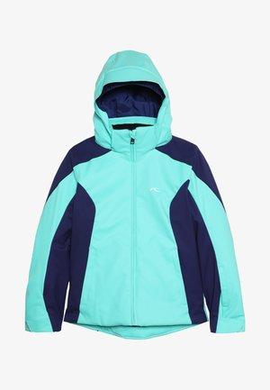 GIRLS FORMULA JACKET - Snowboard jacket - myst sea/into blue