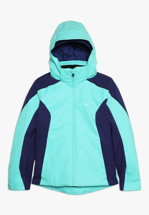GIRLS FORMULA JACKET - Snowboardová bunda - myst sea/into blue