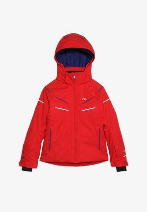 BOYS FORMULA JACKET - Snowboardjacke - scarlet red
