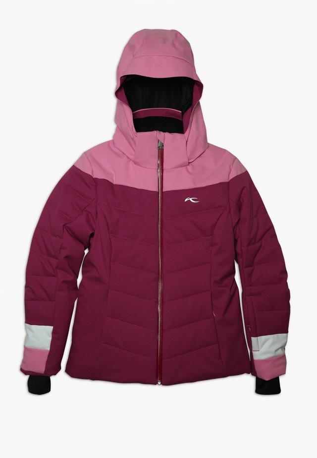 GIRLS MADLAIN JACKET - Ski jacket - fruity pink