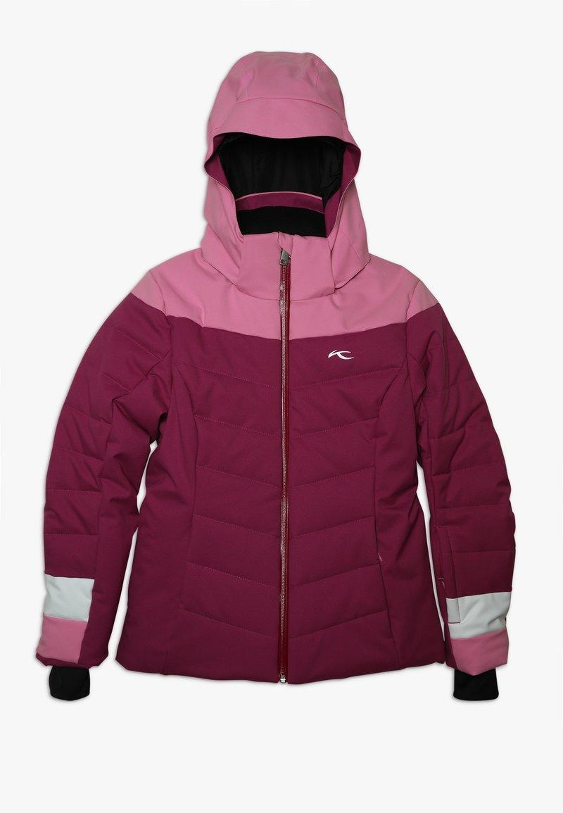 Kjus - GIRLS MADLAIN JACKET - Skidjacka - fruity pink