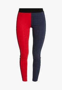 Karl Kani - KK TAPE - Legging - red/navy - 4