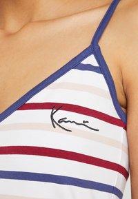 Karl Kani - STRIPE - Top - red/white/green/yellow - 5