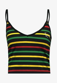 navy/red/yellow/green