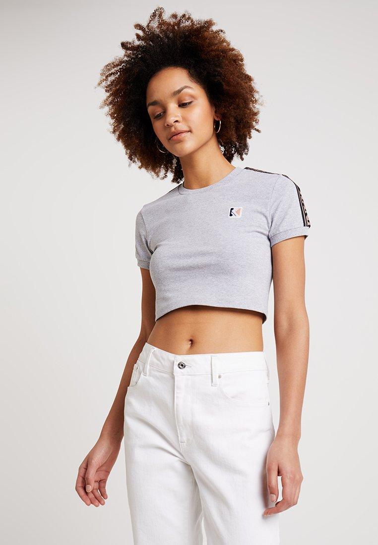 Karl Kani - TEE - T-shirts print - grey