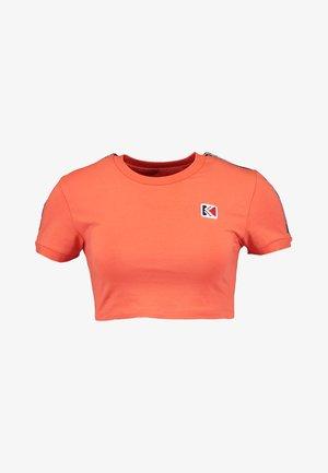 TEE - T-shirt print - orange