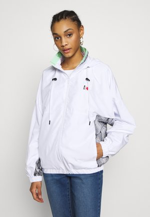 RETRO SNAKE TRACKJACKET - Trainingsvest - white/black