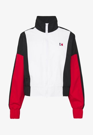 RETRO TAPE JACKET - Veste de survêtement - white/red/black