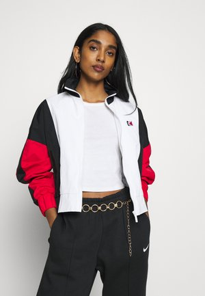 RETRO TAPE JACKET - Trainingsvest - white/red/black