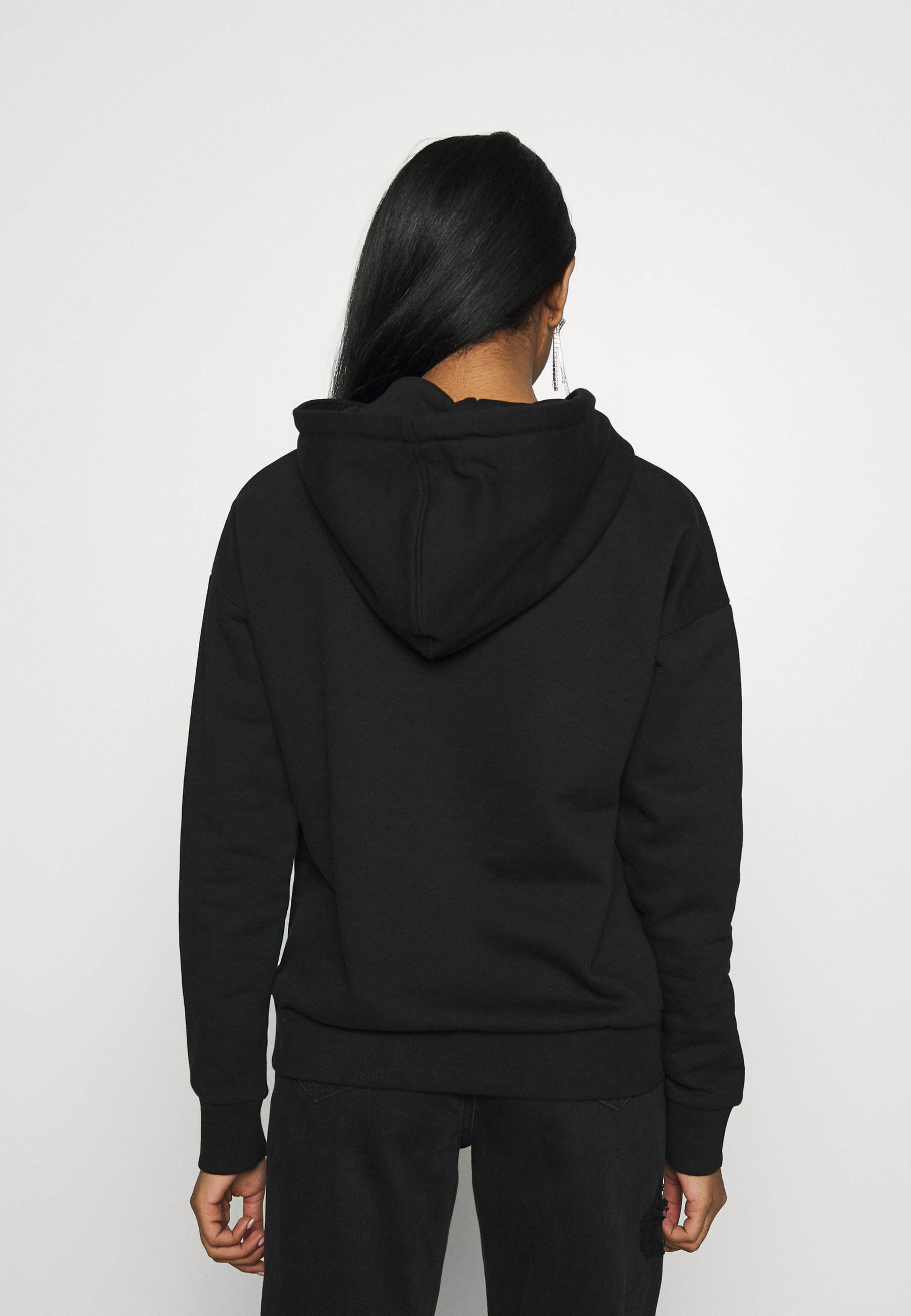 Karl Kani SIGNATURE HOODIE - Bluza z kapturem - black/red