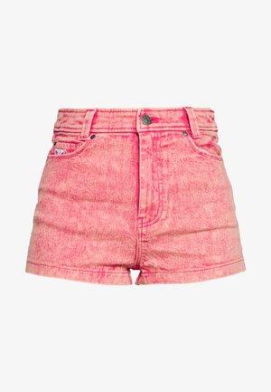 RETRO - Jeans Shorts - purple