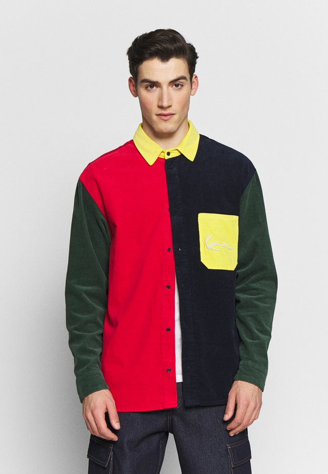 SIGNATURE  - Skjorte - red/black/green/yellow/white