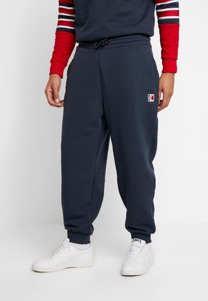 RETRO TRACKPANTS - Tracksuit bottoms - navy