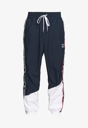 TAPE - Pantalon de survêtement - navy/white