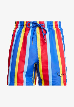 SIGNATURE STRIPE - Shorts - blue/red/yellow/light blue