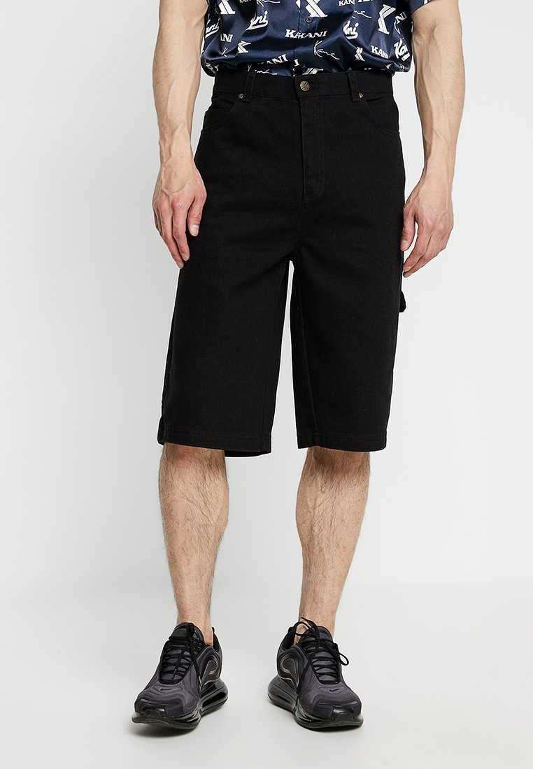 Karl Kani - Shorts vaqueros - black
