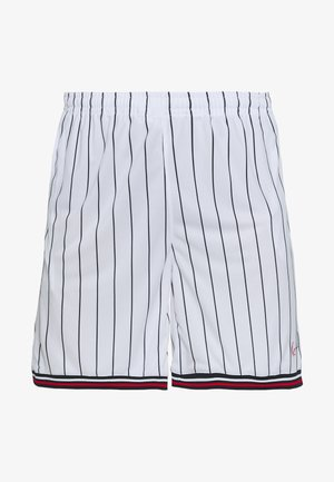SIGNATURE - Jogginghose - white/black/red