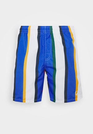 SIGNATURE STRIPE - Short - white/blue