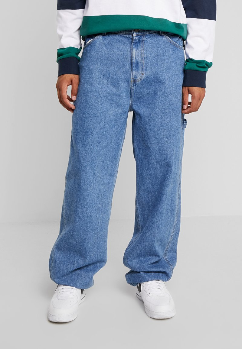 Karl Kani - BAGGY - Relaxed fit jeans - blue