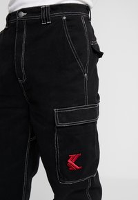 Karl Kani - BAGGY - Jeans relaxed fit - black - 3
