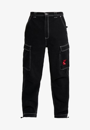 BAGGY - Jeans relaxed fit - black