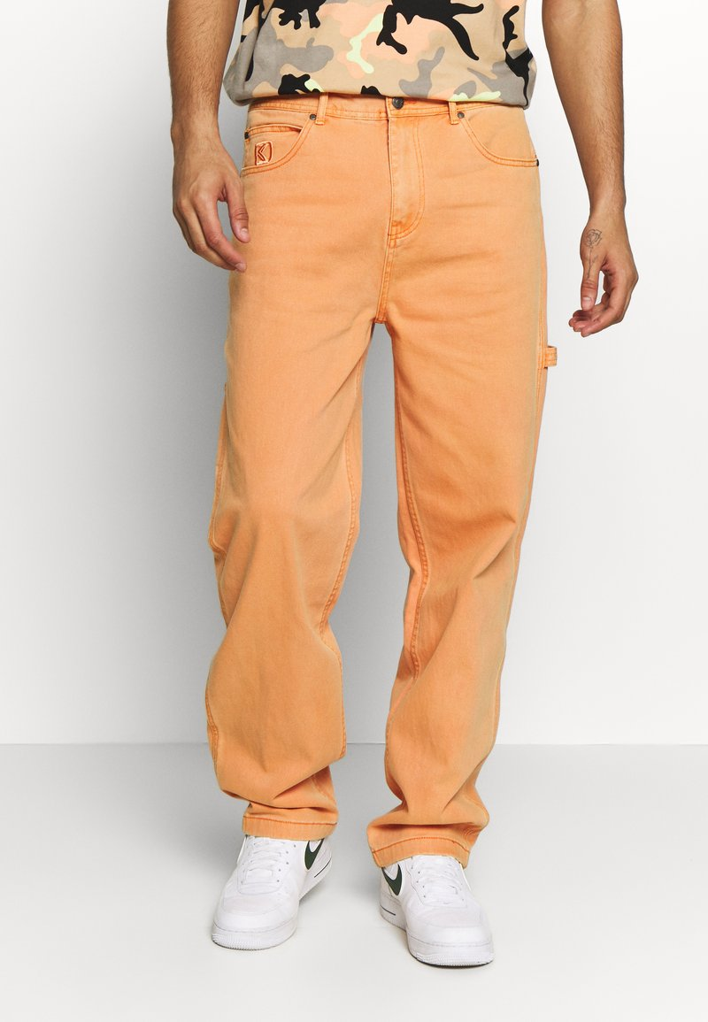 Karl Kani - BAGGY - Džíny Relaxed Fit - coral