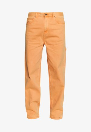 BAGGY - Relaxed fit jeans - coral