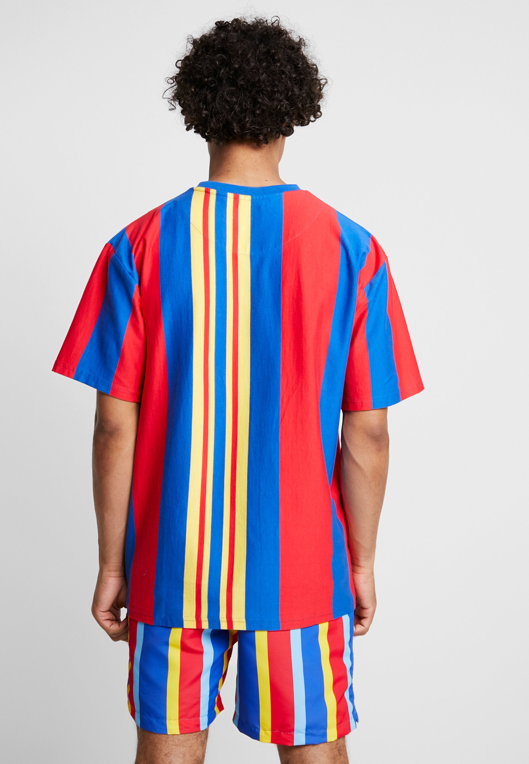 Kani blue shirt Karl TeeT Red Signature Stripe Imprimé yellow kTwXPZiulO
