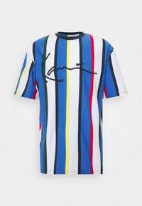 Karl Kani - STRIPE TEE - Print T-shirt - white - 4