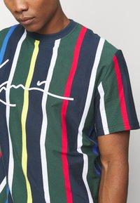 Karl Kani - STRIPE TEE - T-shirt print - navy - 5