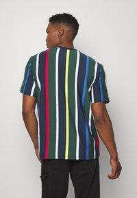 Karl Kani - STRIPE TEE - T-shirt print - navy - 2