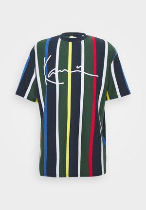 STRIPE TEE - T-shirts print - navy