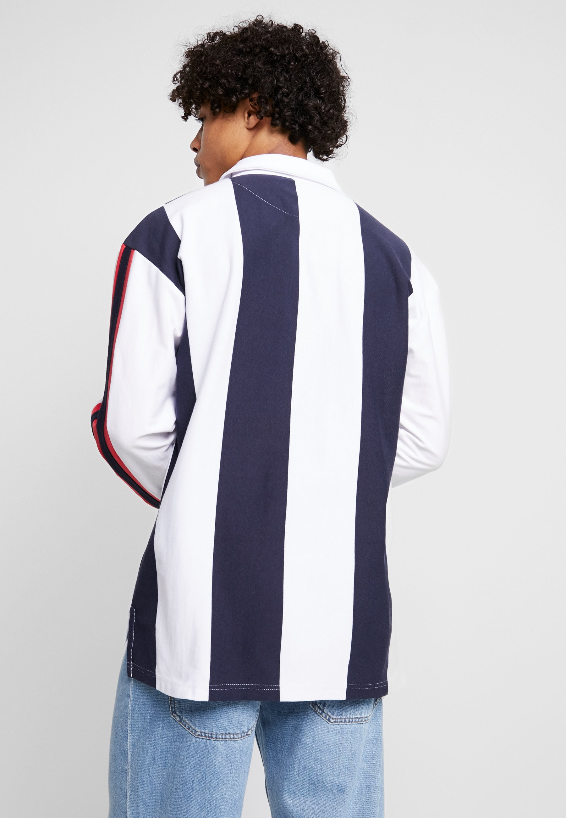 red White Karl College RugbyPolo Kani navy Y7fIbyv6gm